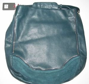 Kelsi Dagger Dunham hobo bag leather dark green color �teal� NWT retail $298