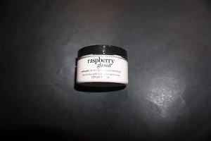 Philosophy Raspberry Glazed body souffle 4 ounces new but open