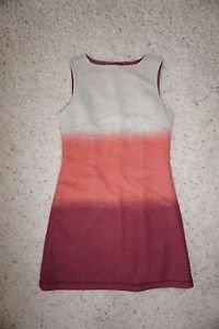 Hoss Intropia Anthropologie wool blend felt sleeveless dress size M ombre NWT