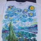 Museum Company womens nightshirt/sleepshirt & socks Van Gogh Starry Night new