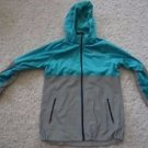 Women's Nike Shield Flash reflective running jacket sz L turquoise gray NWT $350