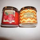 Bath & Body Works 3-wick candle 14.5 oz spiced pineapple samba new