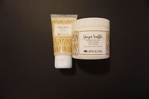 Origins ginger souffle body cream 3 ounces + ginger burst body wash 1.7 oz new
