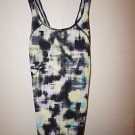 Victoria's Secret Sport Tech Tank spray paint abstract pattern sz XS or S NWT