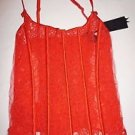 Victoria's Secret Designer Collection red corset lace-up back size L NWT $328