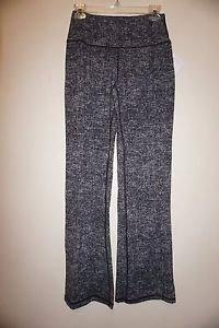 Victoria's Secret Sport wide-leg workout pants sz S black gray crosshatch NWT