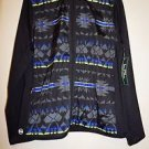 Lauren Ralph Lauren Active jacket sz XL black w/ gray blue geo pattern NWT $125
