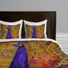 DENY Designs E St Hilaire Nelson Bird of Different Feather Duvet Cover Twin new