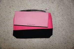 Victoria's Secret Insulated Beach Cooler Bag Shoulder Tote pink & black NWT