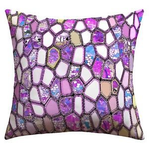 DENY Designs Ingrid Padilla Violet Cells outdoor throw pillow 16 X 16 new