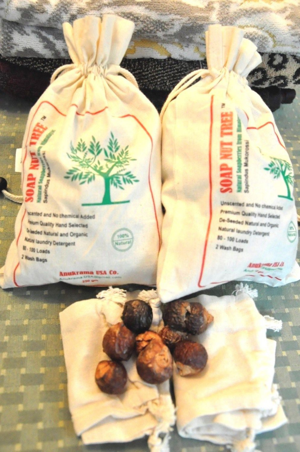 SoapNut organic berries natural chemical free laundry detergent 1.1lbs also can be used to wash hair