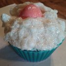 Hand Made Sparkling Cupcake Soap! Made With Cocoa Butter