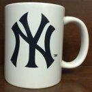 MLB New York Yankees White Ceramic Coffee Mugs Cups 12OZ w Handle Authentic New