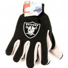 Oakland Raiders Sport Garden Utility Grip Gloves Work Winter 2 Tone Licensed