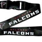 NFL Atlanta Falcons Lanyard Keychain Keyring Badge Holder Licensed Breakaway