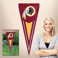 NFL Washington Redskins Yard Wall Pennant Applique Embroidered Indoor Outdoor