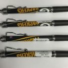NFL Green Bay Packers Jazz Retractable Ballpoint Pens Soft Rubber Grip SET OF 4