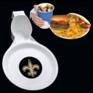 New Orleans Saints Plate and Dinner Set 2pack Ultimate Party Indoor Outdoor New