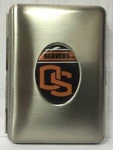 Oregon State Beavers Credit Card Id Holder Metal Handcrafted Emblem Licensed