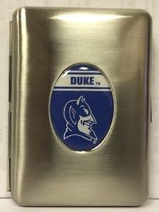 Duke Blue Devils Credit Card Id Holder Metal Handcrafted Emblem Licensed New