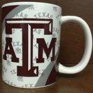 NCAA Texas A&M Aggies White Ceramic Coffee Mugs Cups 12OZ w Handle Authentic New