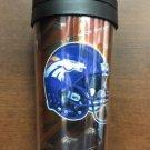 NFL Denver Broncos 16oz Acrylic Travel Tumbler Insulated Hi-Def Graphics New