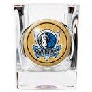 NBA Dallas Mavericks Shot Glass Primary Logo Licensed New Great Gift