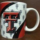 NCAA Texas Tech Red Raiders White Ceramic Coffee Mugs Cups 12OZ w Handle New