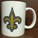 NFL New Orleans Saints White Ceramic Coffee Mugs Cups 12OZ Handle Authentic New