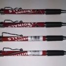 NFL Arizona Cardinals Retractable Ballpoint Pens Soft Rubber Grip Pack OF 4