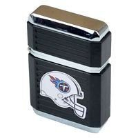 NFL Tennessee Titans Windproof Refillable Jet Butane Lighter w Case Licensed New