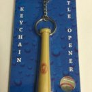MLB Boston Red Sox Bat Keychain Keyring With Bottle Opener Authentic New