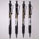 NFL New Orleans Saints Retractable Ballpoint Pens Soft Rubber Grip Pack OF 4