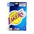 "Los Angeles Lakers Vinyl Car Auto Truck Window Decal Sticker 5.75"" x 7.75"" New"