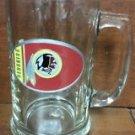 NFL Washington Redskins 15OZ Glass Tankard Beer Mug Hand Crafted Metal Team Logo