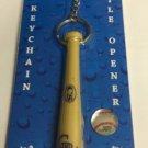 MLB Colorado Rockies Bat Keychain Keyring With Bottle Opener Authentic New