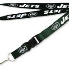 NFL New York Jets Lanyard Keychain Keyring Badge ID Holder Licensed Breakaway