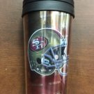 NFL San Francisco 49ers 16oz Acrylic Travel Tumbler Insulated HiDef Graphics New
