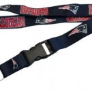 NFL New England Patriots Lanyard Keychain Keyring Badge ID Holder Licensed