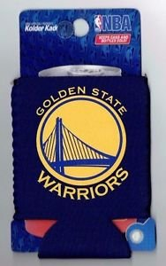 Golden State Warriors Football Can Koozie Coozie Drink Holder New Licensed Blue