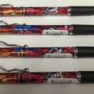 NBA Oklahoma City Thunders Retractable Ballpoint Pens Soft Rubber Grip Pack OF 4