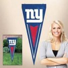 NFL New York Giants Yard Wall Pennant Applique Embroidered Indoor Outdoor New