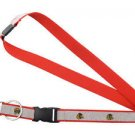 Chicago Blackhawks Sparkle Lanyard Keychain Keyring Badge Holder Breakaway New
