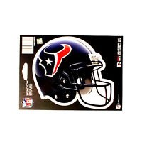 "Houston Texans Vinyl Car Auto Truck Window Decal Sticker 5.75"" x 7.75"" New"