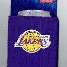 NBA Los Angeles Lakers Football Can Koozie Coozie Drink Holder New Navy Glitter