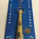 MLB Seattle Mariners Bat Keychain Keyring With Bottle Opener Authentic New