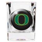 NCAA Oregon Ducks Shot Glass Crystal Coat Emblem Logo Licensed New Great Gift