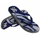 New York Yankees MLB Unisex Big Logo Flip Flops Size X-Small High Quality