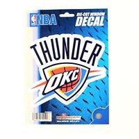 "Oklahoma City Thunders Vinyl Car Auto Truck Window Decal Sticker 5.75"" x 7.75"""