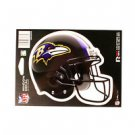 "Baltimore Ravens Vinyl Car Auto Truck Window Decal Sticker 5.75"" x 7.75"" New"